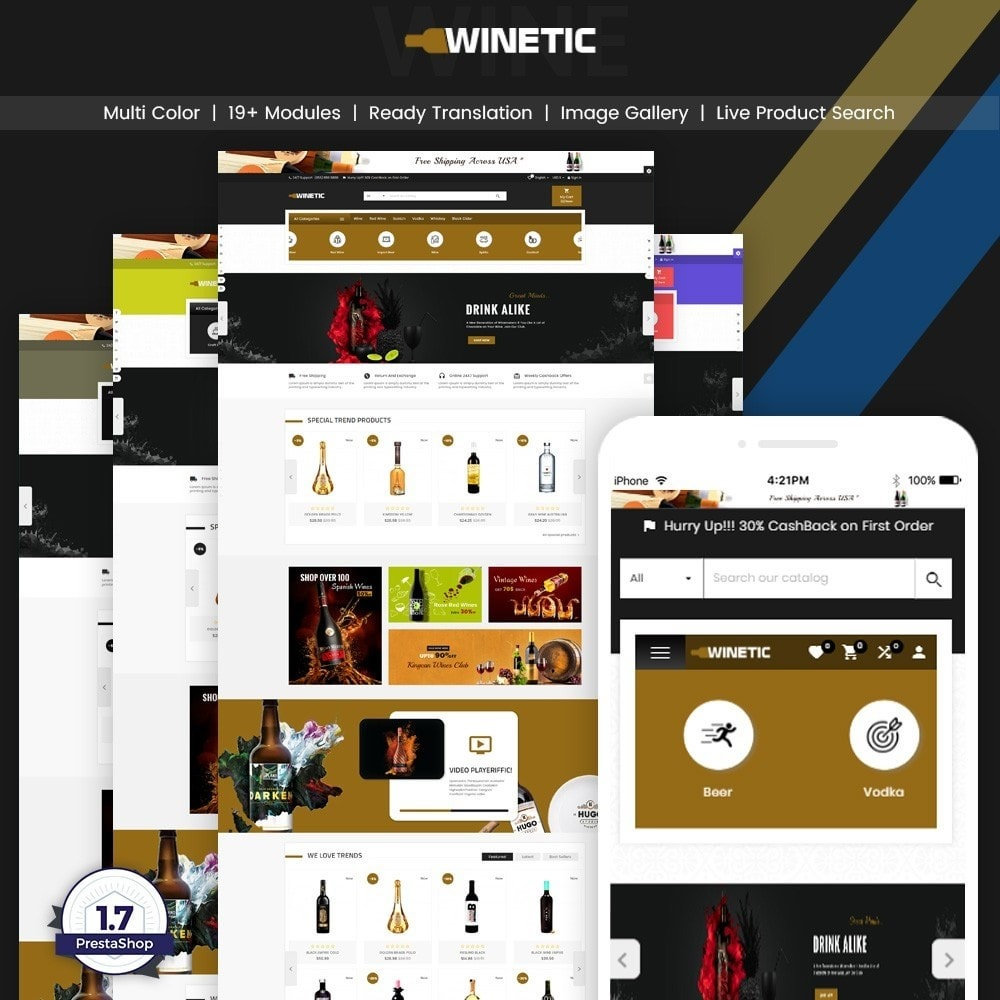 theme - Boissons & Tabac - WineTic – Wine Super Store - 1