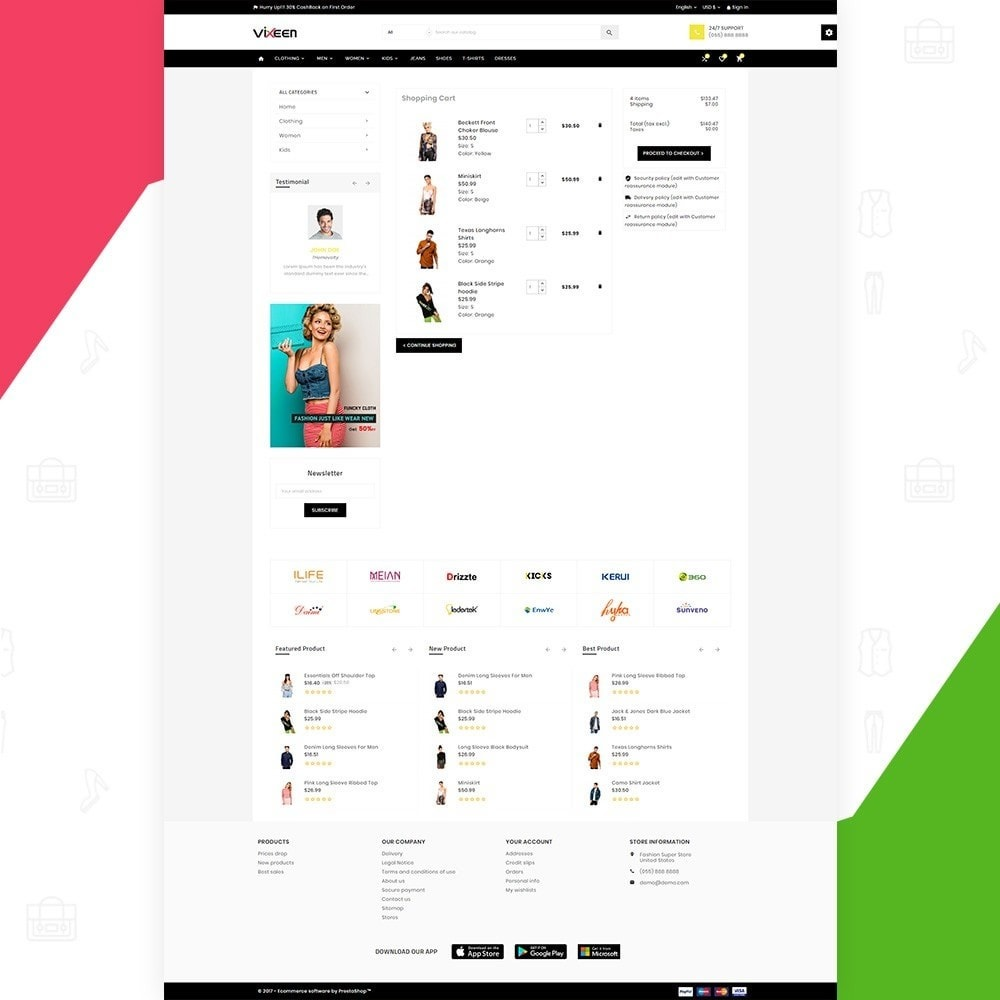 theme - Moda & Calçados - Vixeen Stylo Fashion Super Store v3 - 6