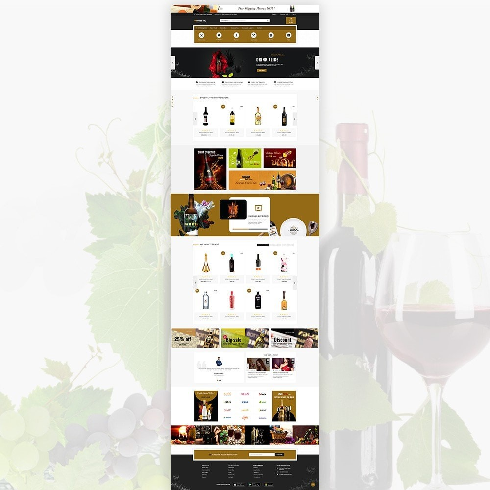 theme - Boissons & Tabac - WineTic – Wine Super Store - 2
