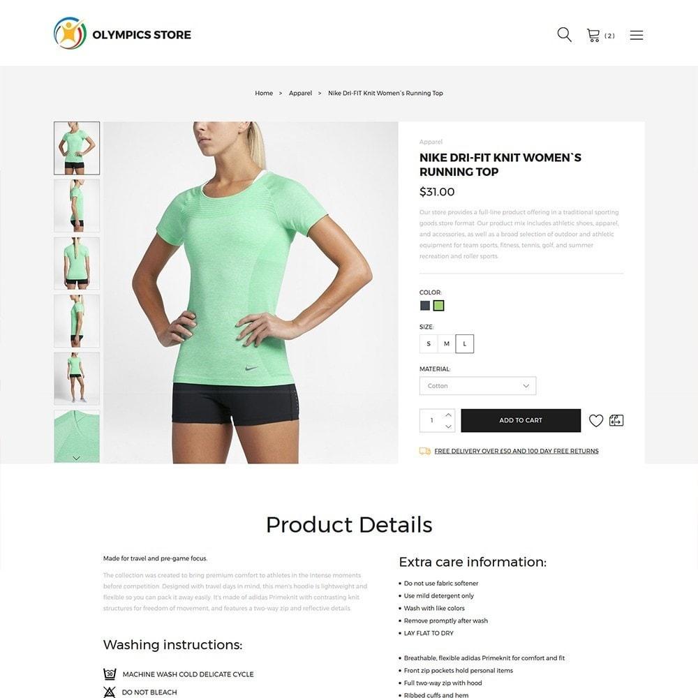 theme - Deportes, Actividades y Viajes - Olympics Store - Professional Sports - 3