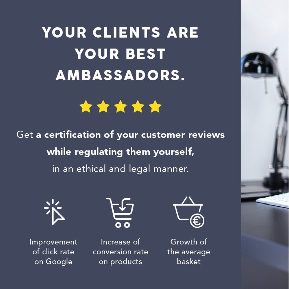 module - Klantbeoordelingen - Guaranteed Reviews Company, shop and product ratings - 1