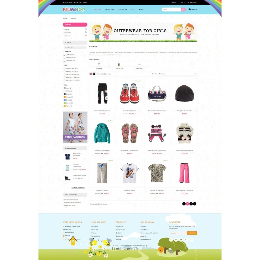 theme - Enfants & Jouets - Kids Shop - 3