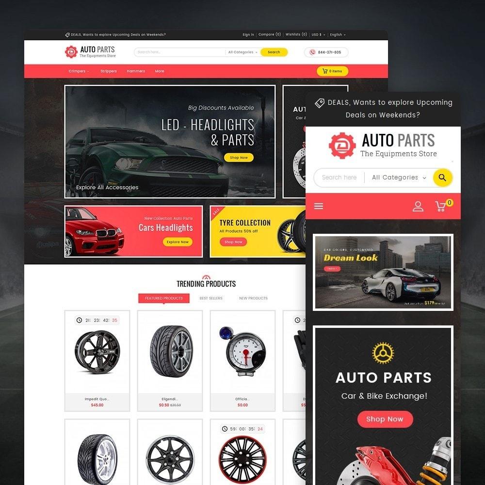 theme - Automotive & Cars - Auto Equipment Parts - 1
