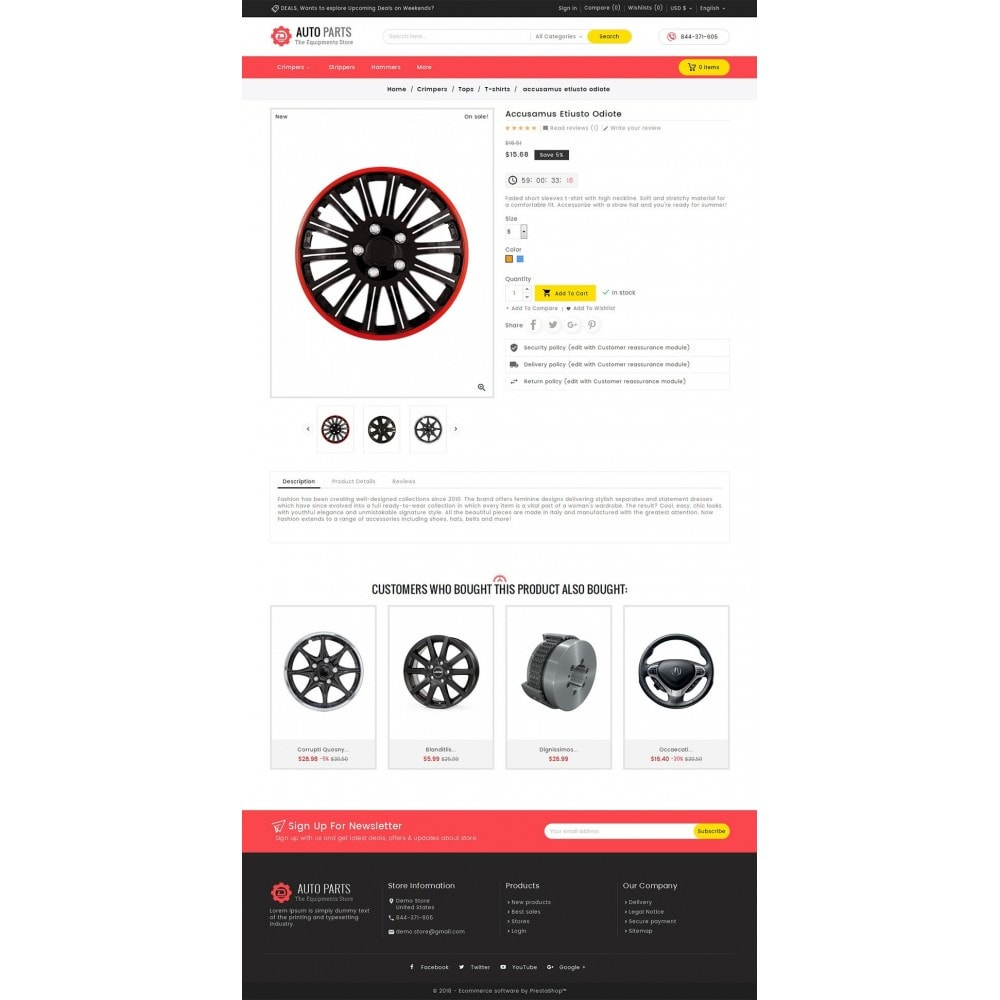 theme - Auto's & Motoren - Auto Equipment Parts - 5