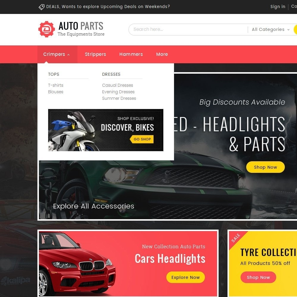 theme - Carros & Motos - Auto Equipment Parts - 8
