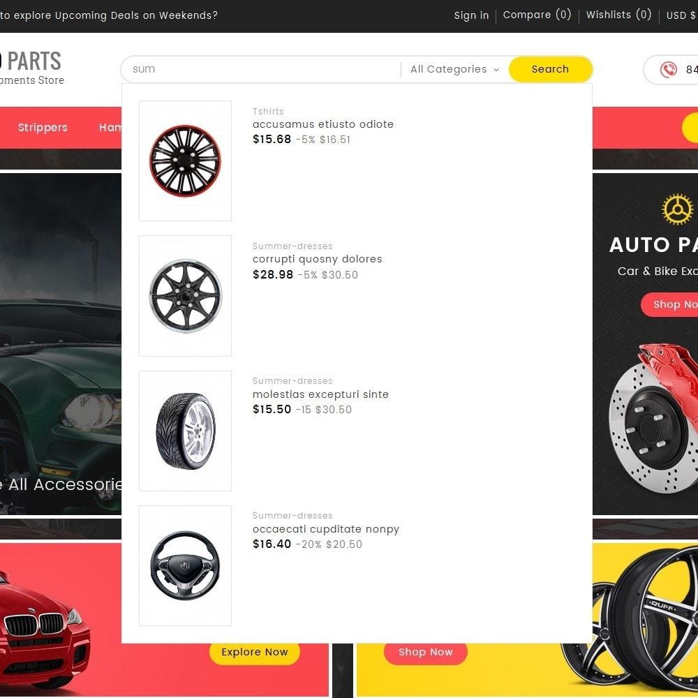 theme - Automotive & Cars - Auto Equipment Parts - 9