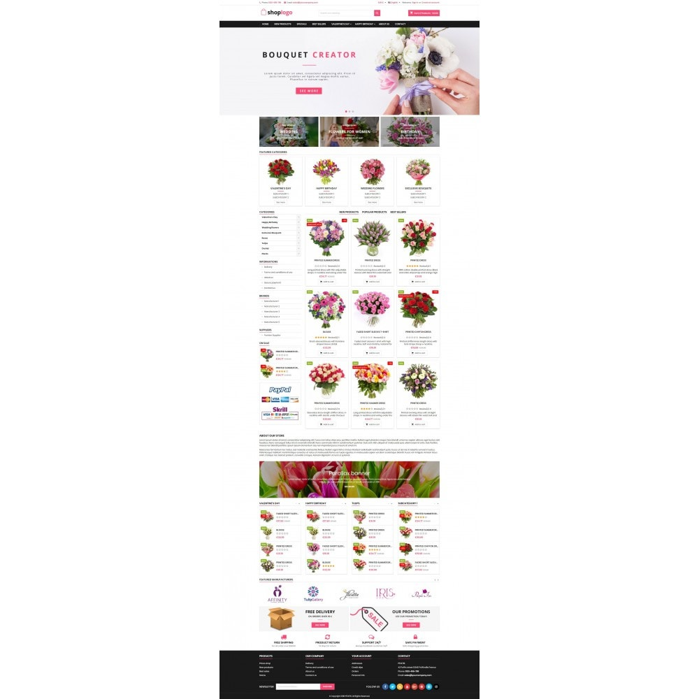 theme - Regalos, Flores y Celebraciones - P17AT16 Flowers and gifts store - 2
