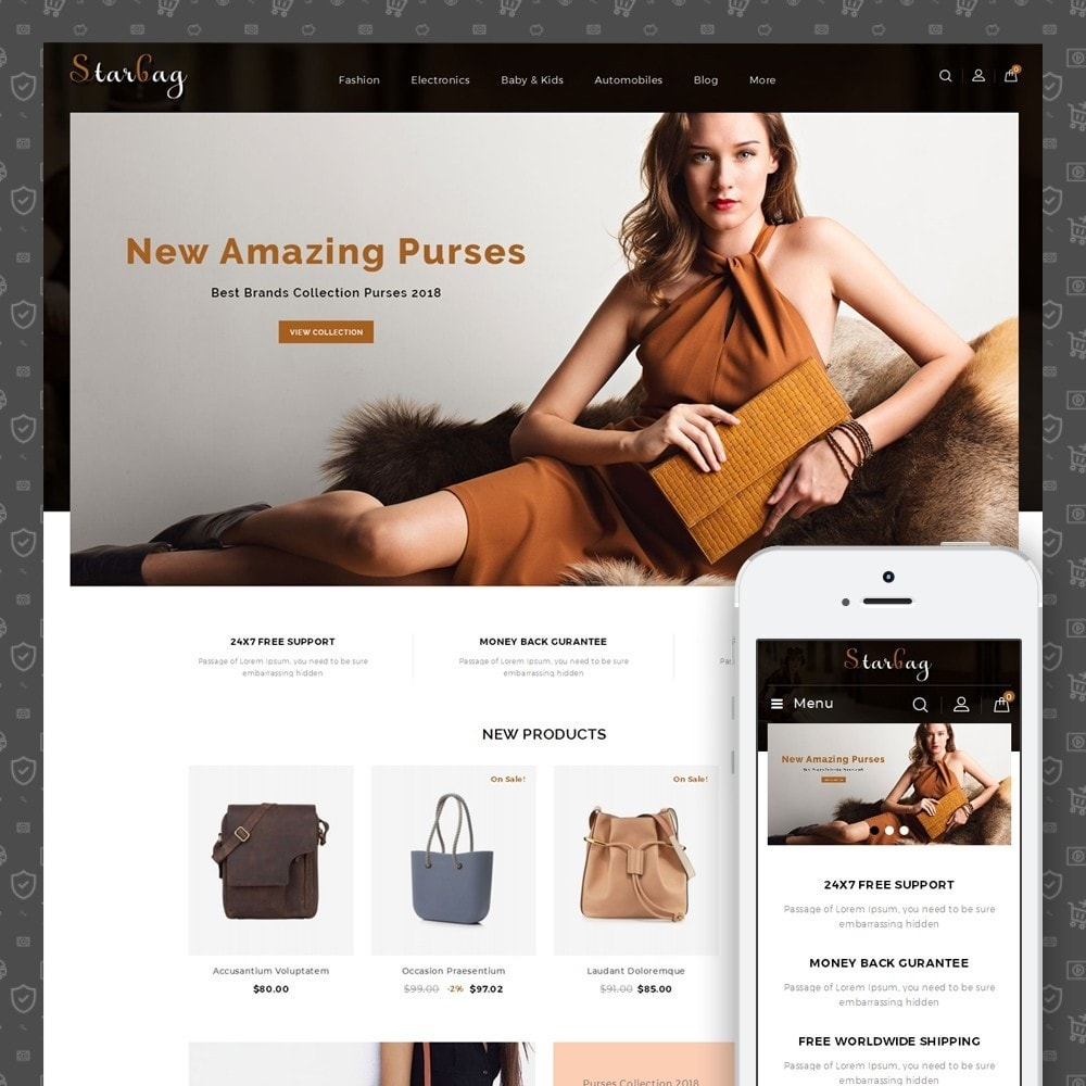 theme - Mode & Schuhe - Star Bag Store - 1