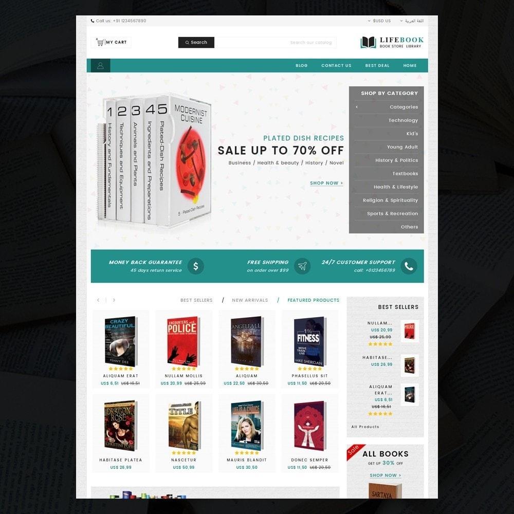 theme - Arte e Cultura - Books Store - 9