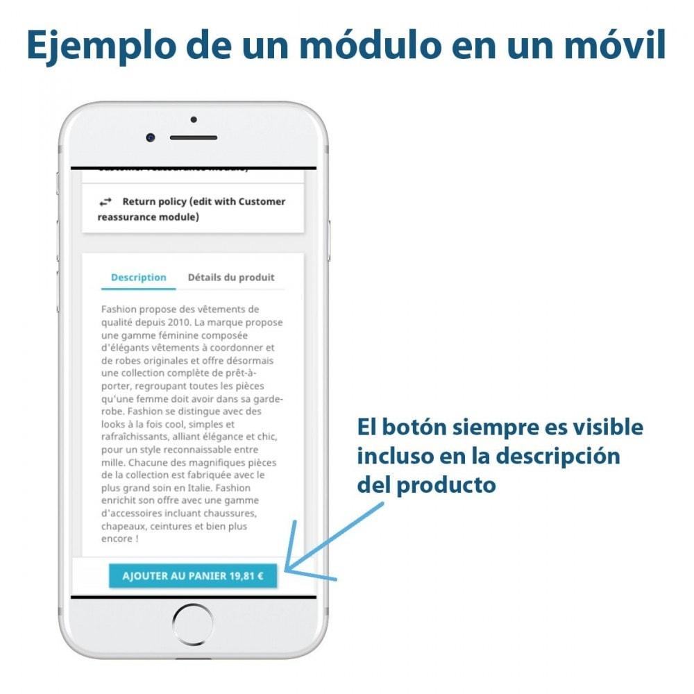 module - Inscripción y Proceso del pedido - Sticky Botón Añadir al Carrito en Páginas Producto - 3