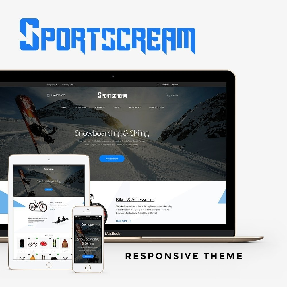 theme - Sports, Activities & Travel - Sportscream - 1