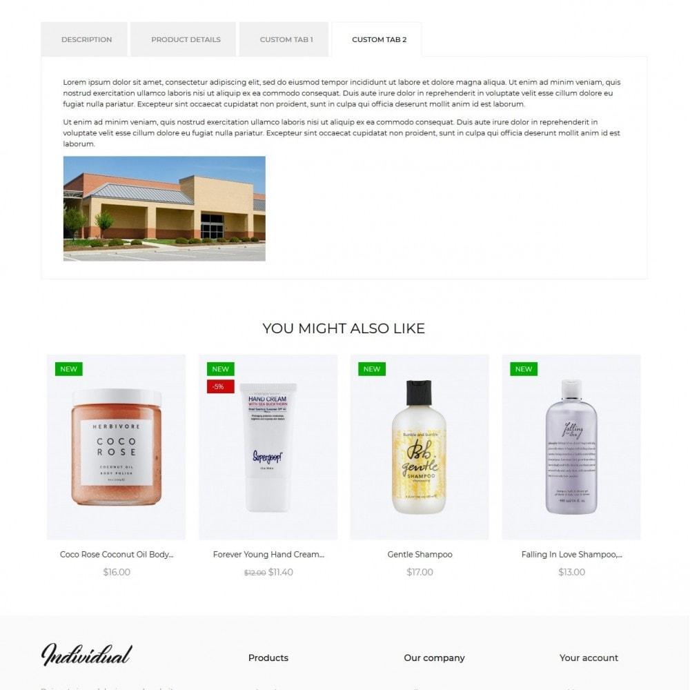 theme - Santé & Beauté - Individual Cosmetics - 9