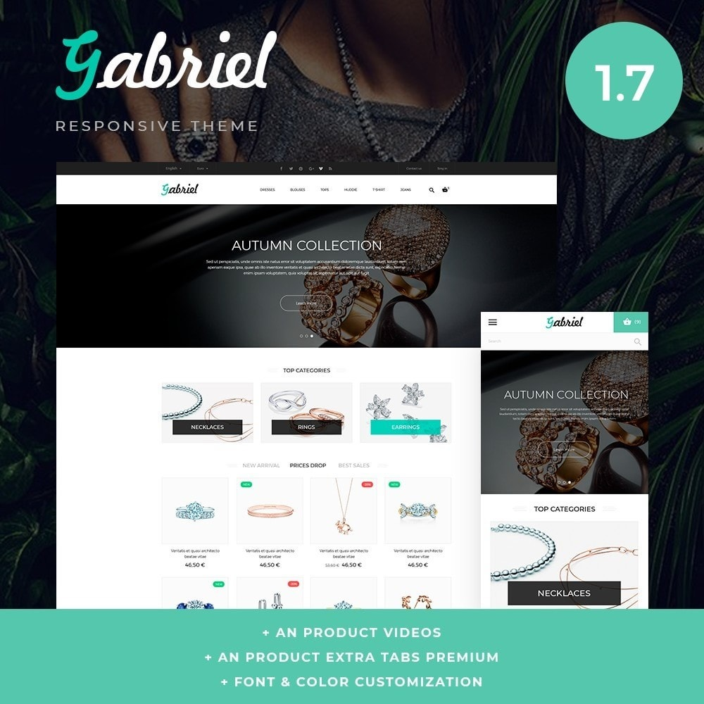 theme - Jewelry & Accessories - Gabriel - 1