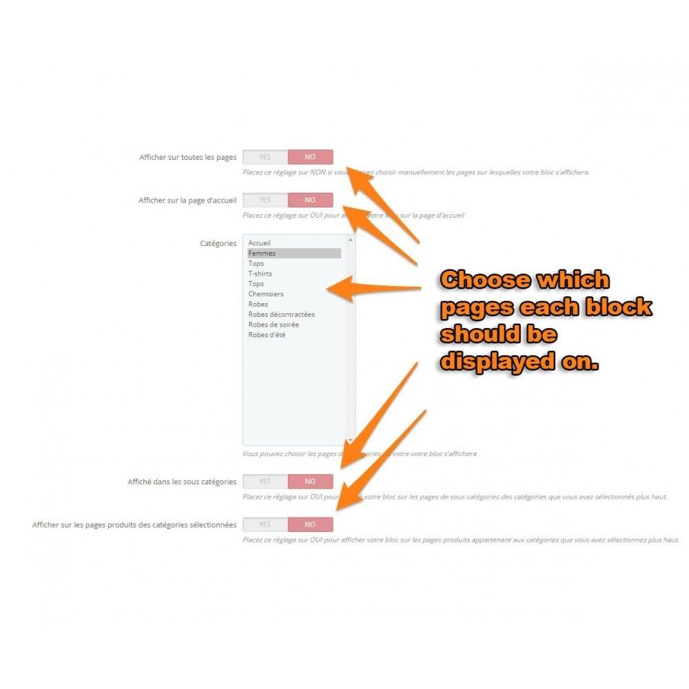 module - Blog, Foro y Noticias - Multi html block - 4