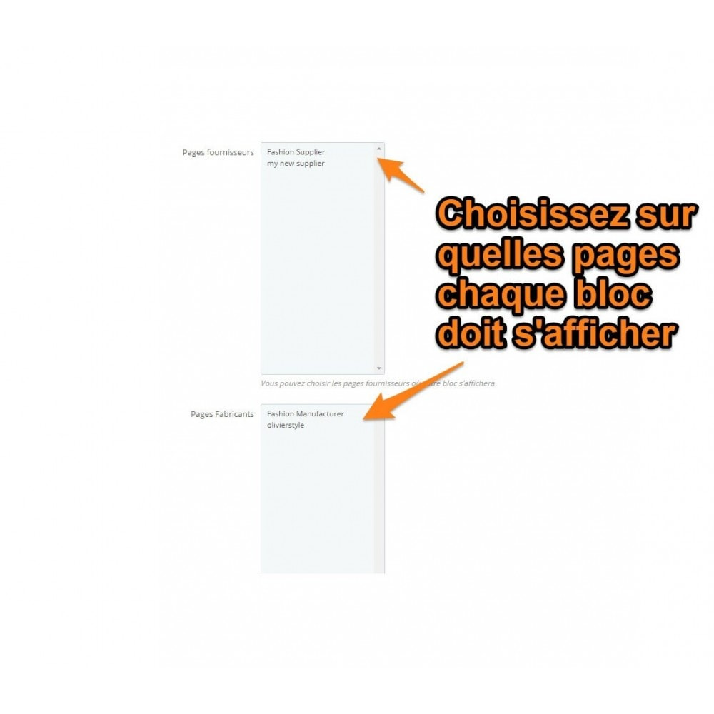 module - Blog, Forum & Actualités - Multi html block - 4