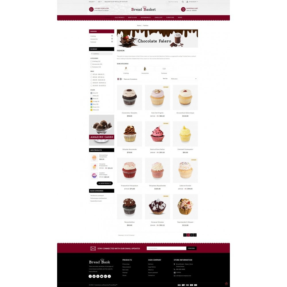 theme - Lebensmittel & Restaurants - Bread Basket - Bakery Shop - 3
