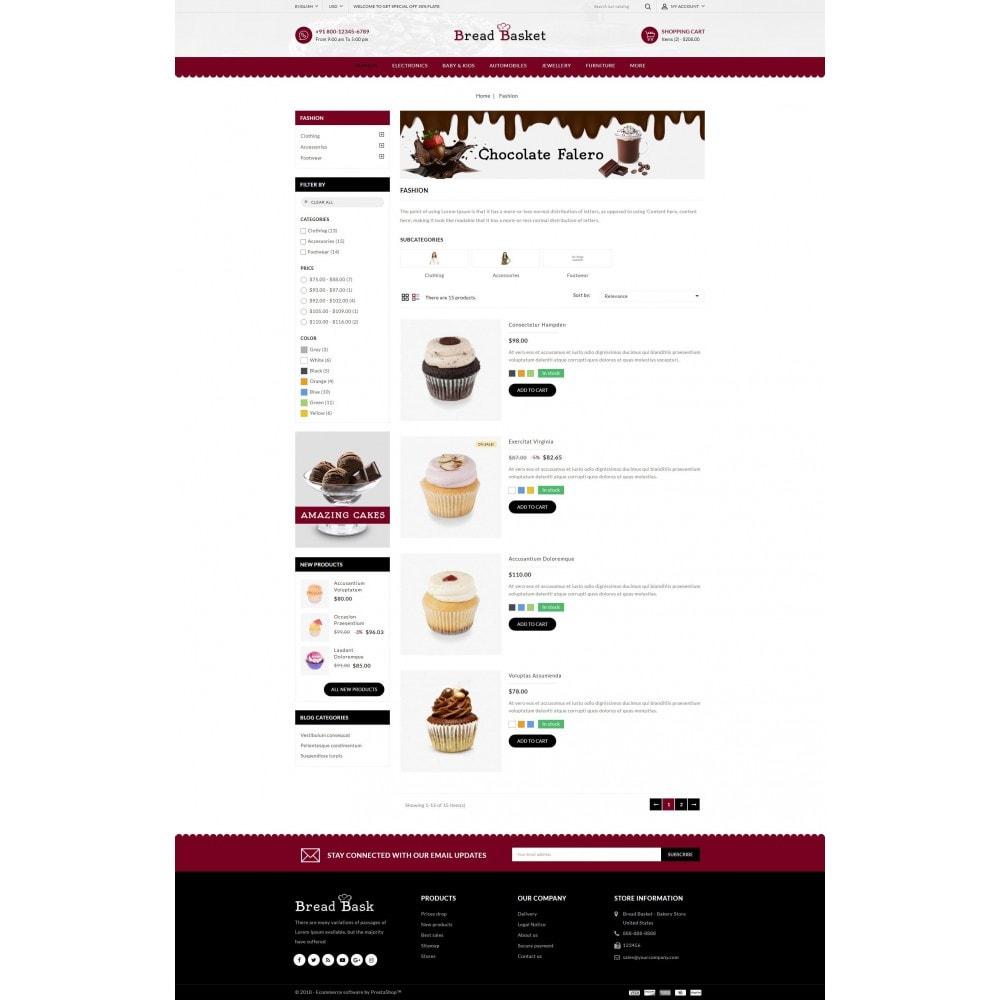theme - Продовольствие и рестораны - Bread Basket - Bakery Shop - 4