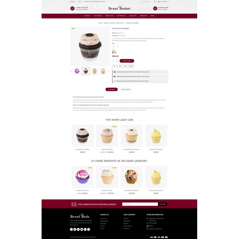 theme - Продовольствие и рестораны - Bread Basket - Bakery Shop - 5