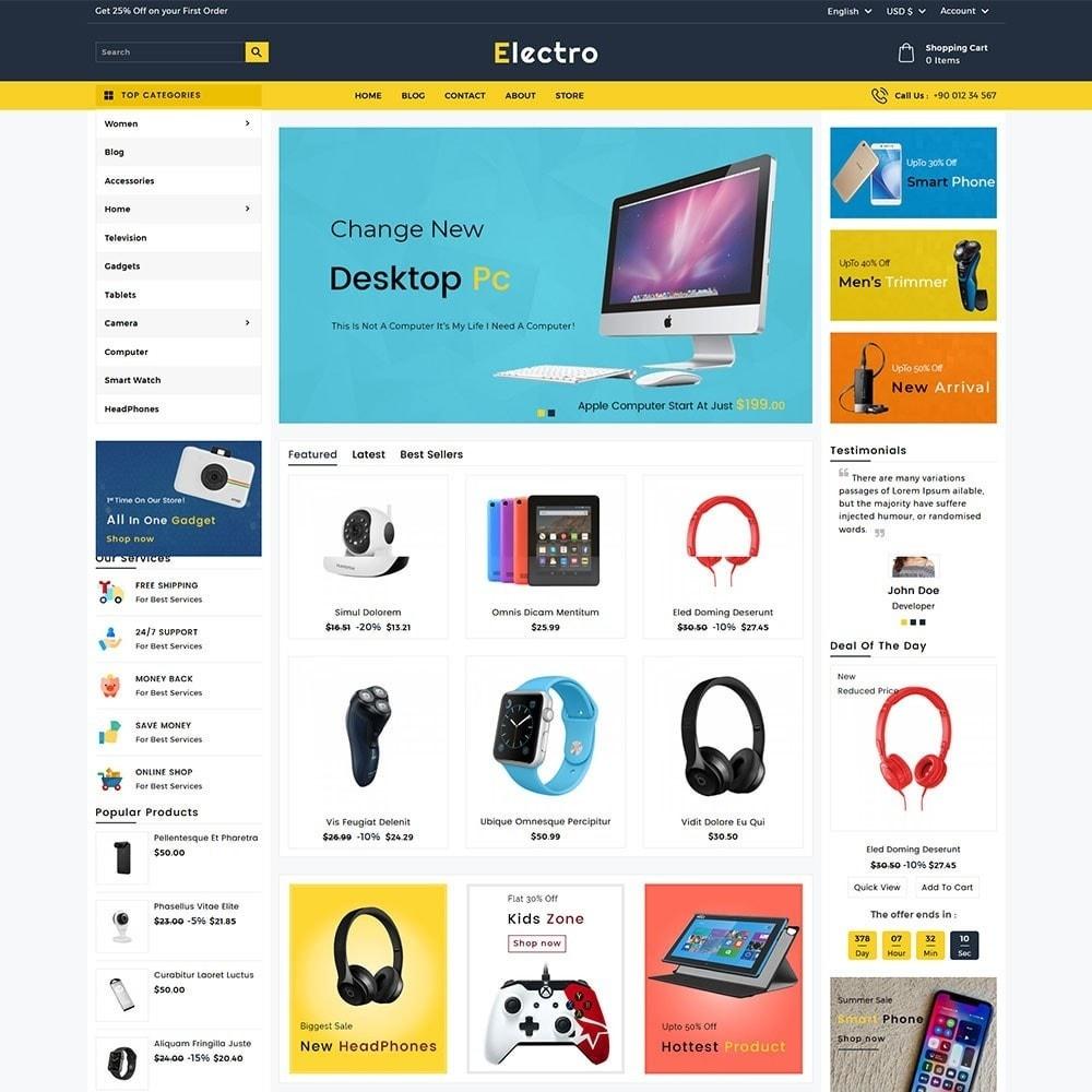 theme - Electrónica e High Tech - Electro Electronics Store - 2