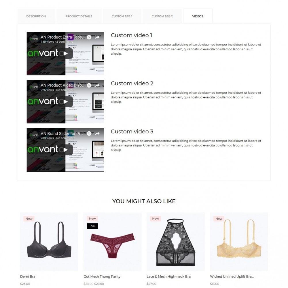 theme - Lingerie & Adult - Lisette Lingerie Shop - 11