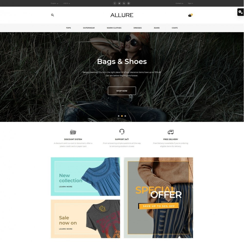 theme - Fashion & Shoes - Allure Fashion Store - 2
