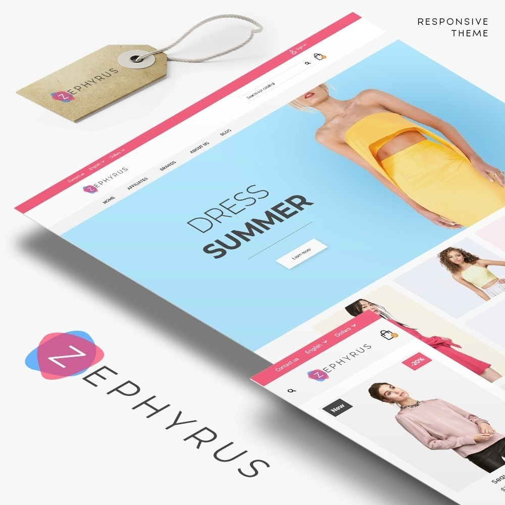 theme - Mode & Chaussures - Zephyrus Fashion Store - 1