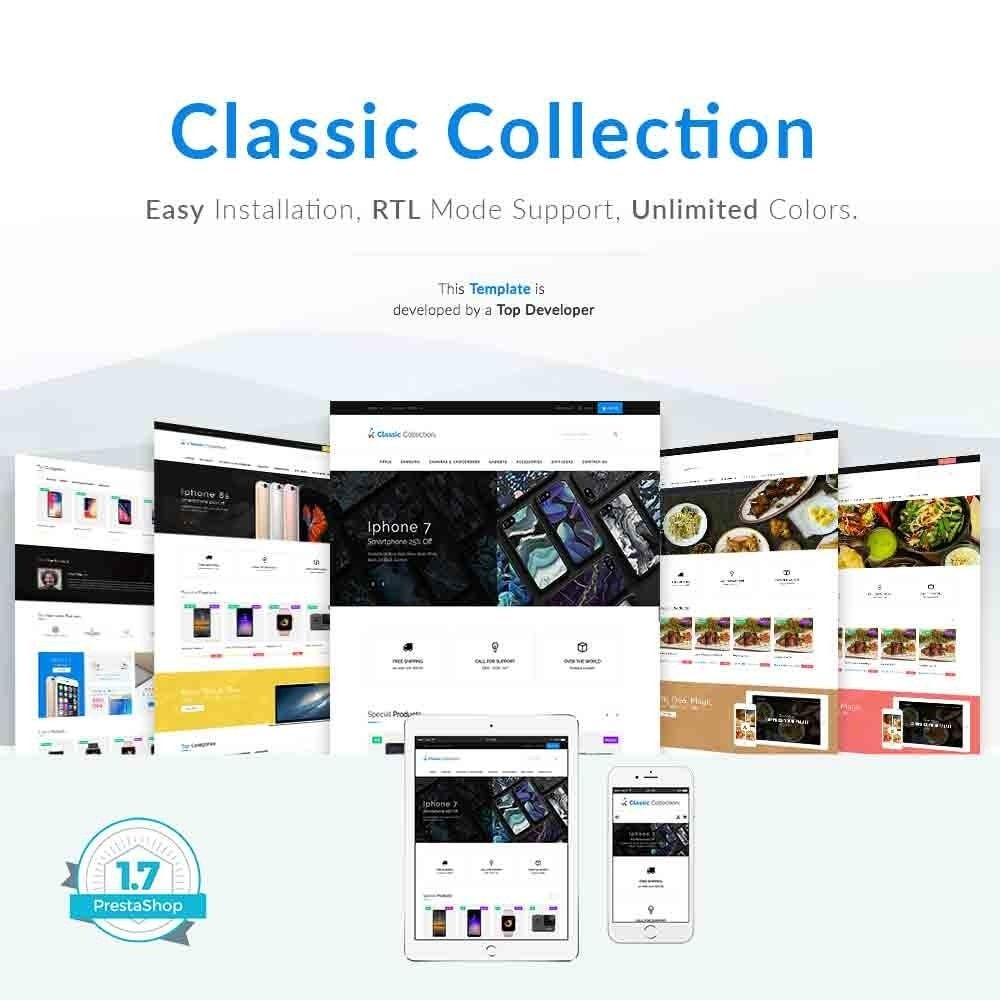 theme - Elektronik & High Tech - Classic Collection Pro - 1
