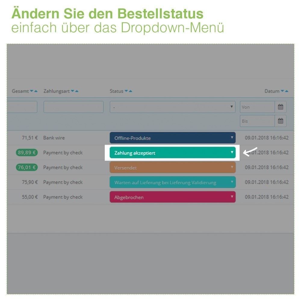 bundle - Auftragsabwicklung - Pack Manage orders and products quickly - 3