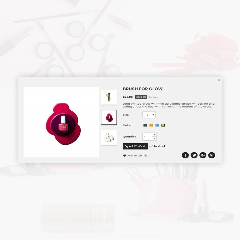 theme - Saúde & Beleza - Costary – Cosmetics Super Store - 8