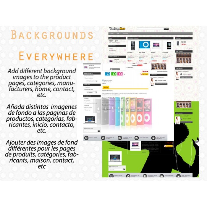 module - Front office features - Backgrounds Everywhere - 1