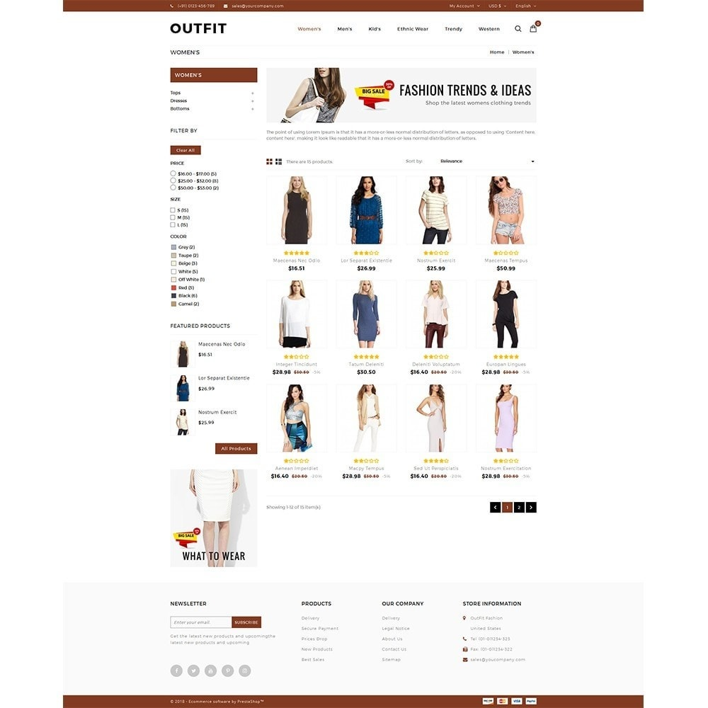 theme - Moda & Calzature - Outfit Fashion Store - 3