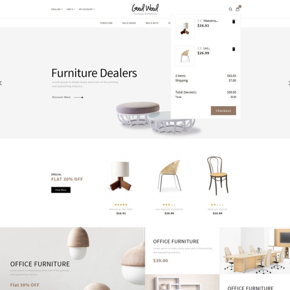 theme - Дом и сад - Goodwood Furniture Store - 7