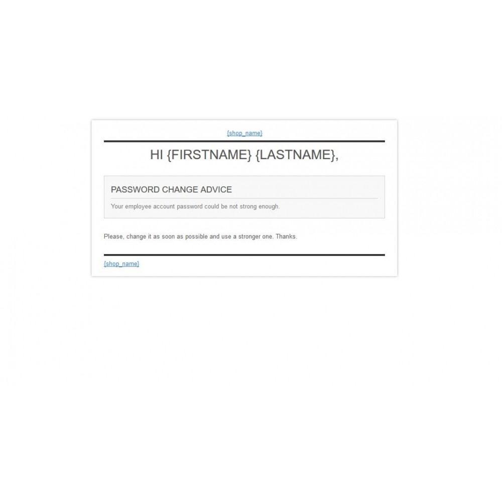 module - Sicherheit & Brechtigungen - Password Strength Checker - 5