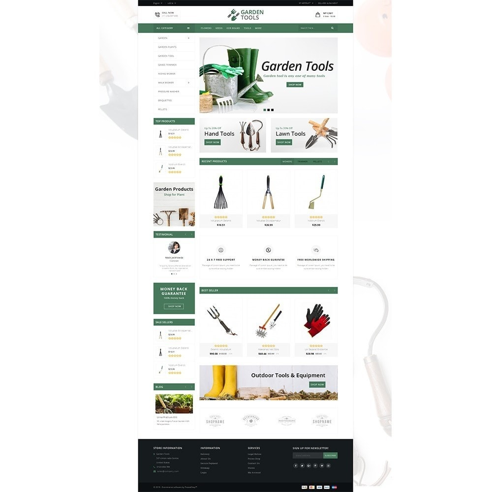 theme - Dom & Ogród - Garden Tools Store - 2