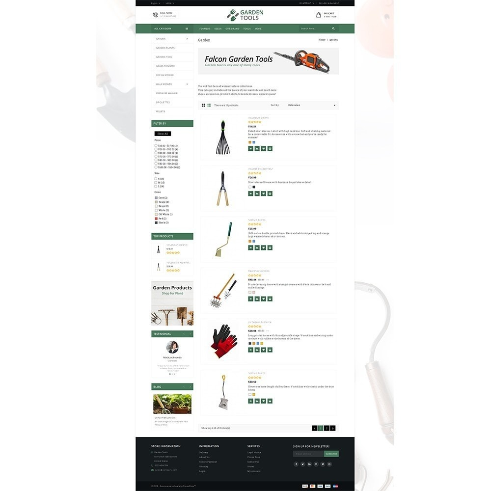 theme - Dom & Ogród - Garden Tools Store - 4