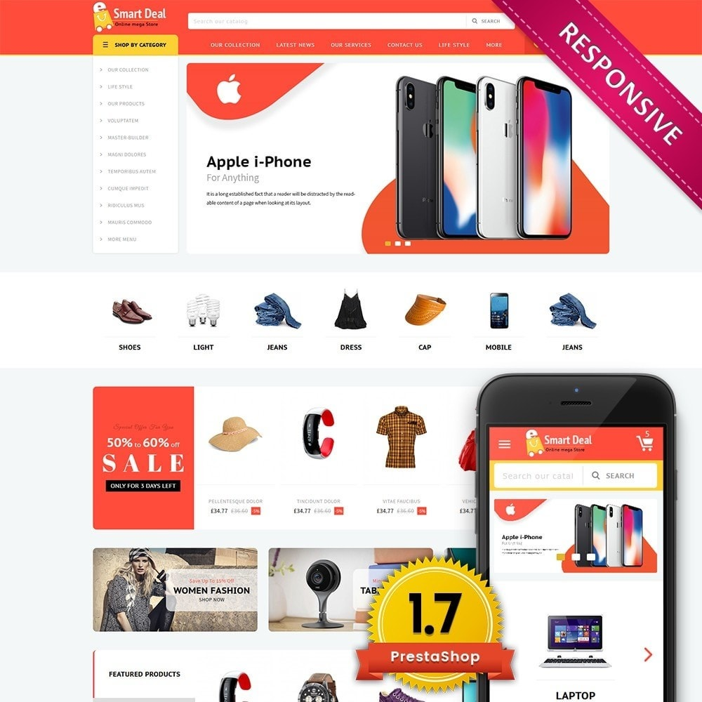 theme - Elektronica & High Tech - Smartdeal Mega Store - 1