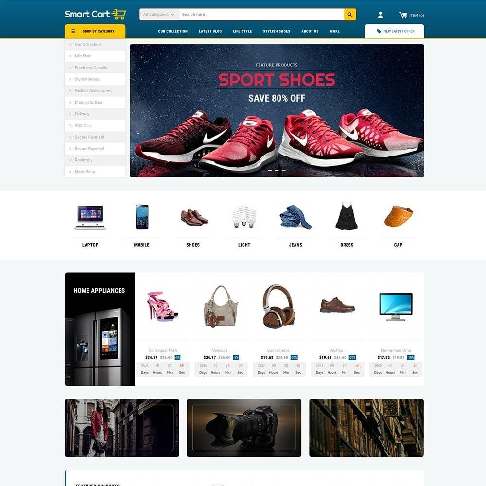 theme - Moda y Calzado - Smartcart Mega Store - 2