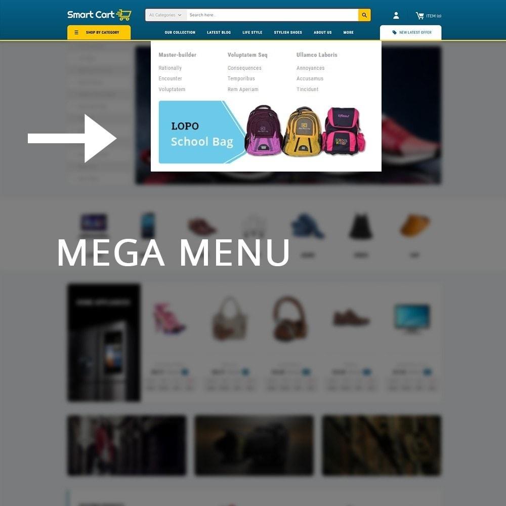 theme - Moda y Calzado - Smartcart Mega Store - 9