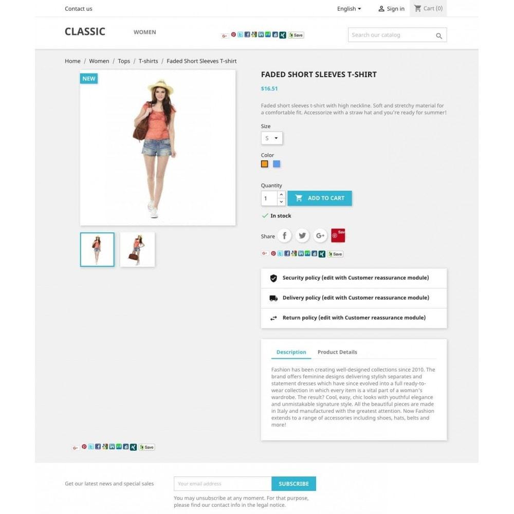 module - Deelknoppen & Commentaren - Share on social network - 1