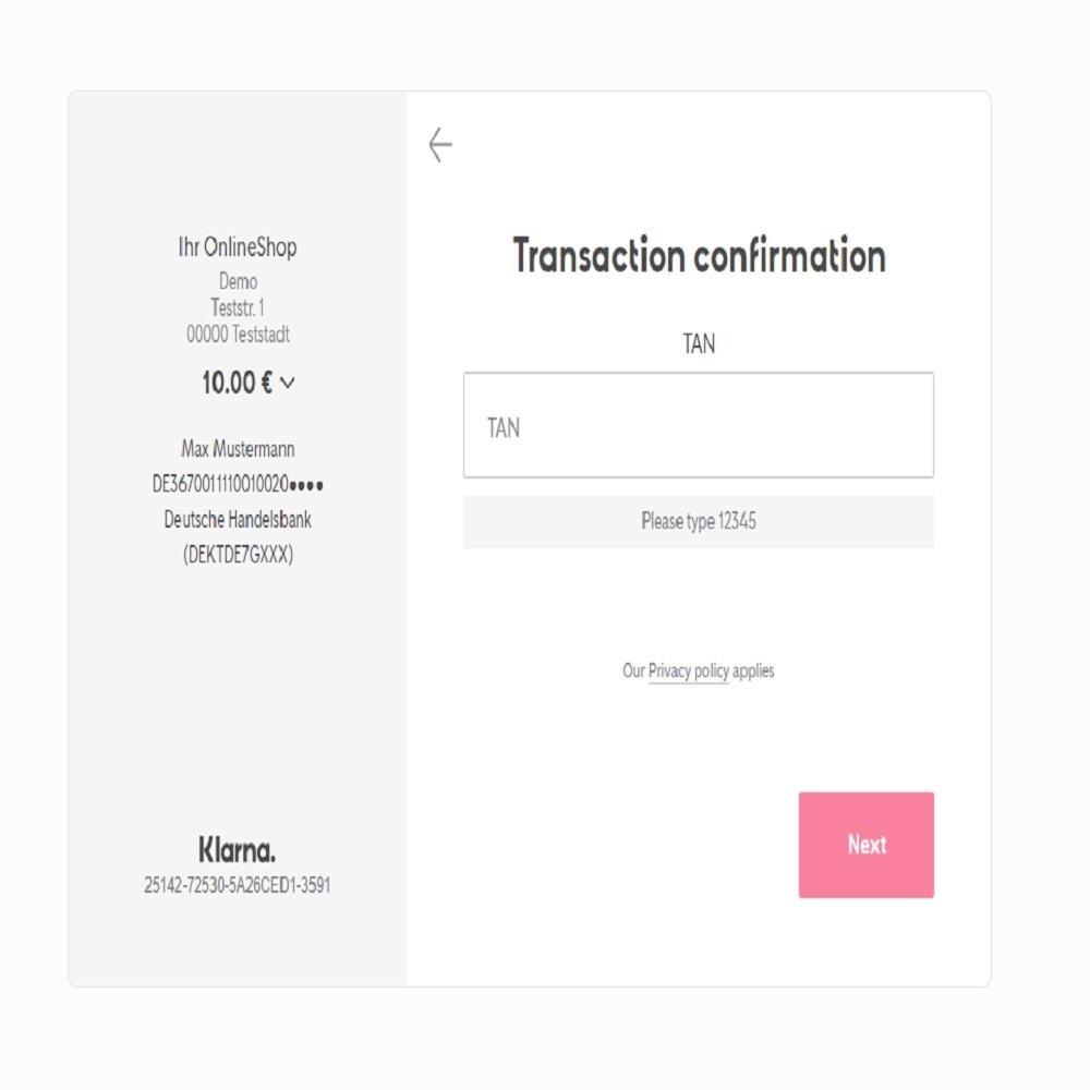 module - Zahlung per Überweisung - Sofort - 2
