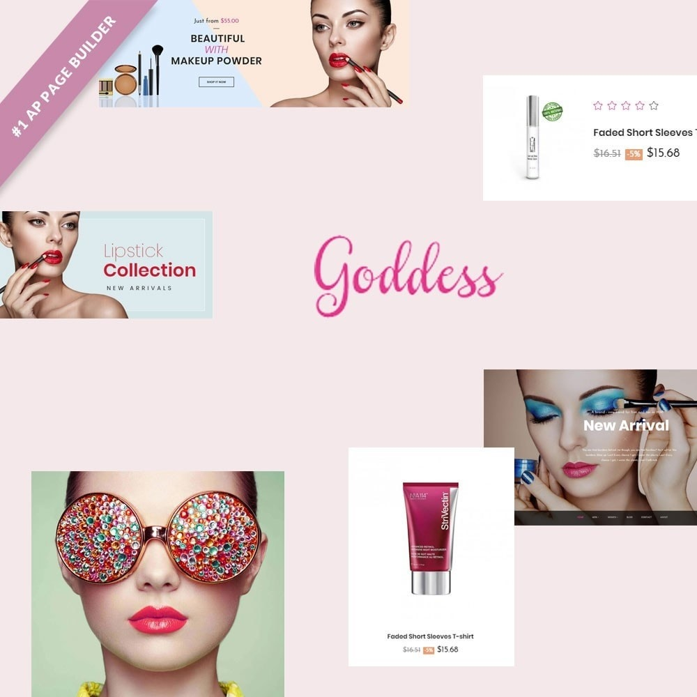 theme - Health & Beauty - Leo Goddess - 1