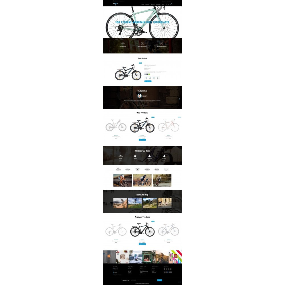 theme - Automotive & Cars - Bicycle Store - 2
