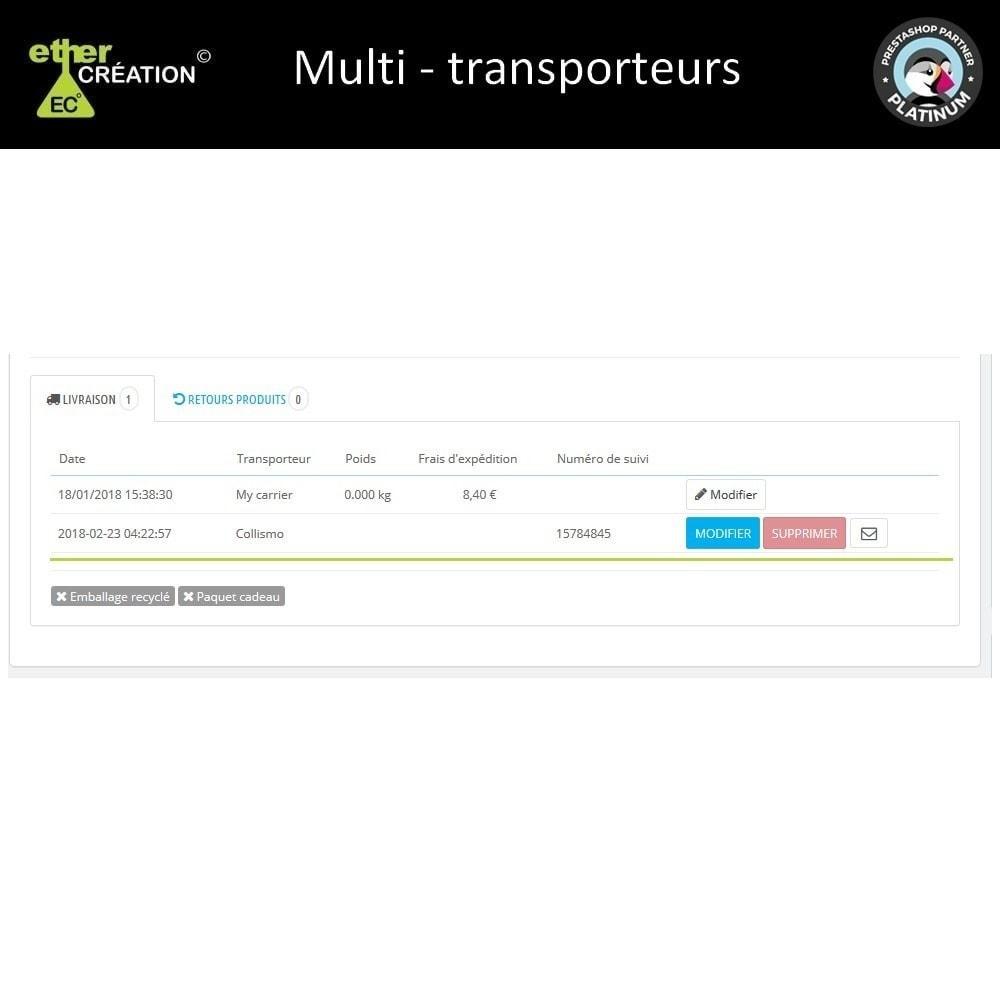 module - Transporteurs - Multi transporteur & Multi suivi - 3