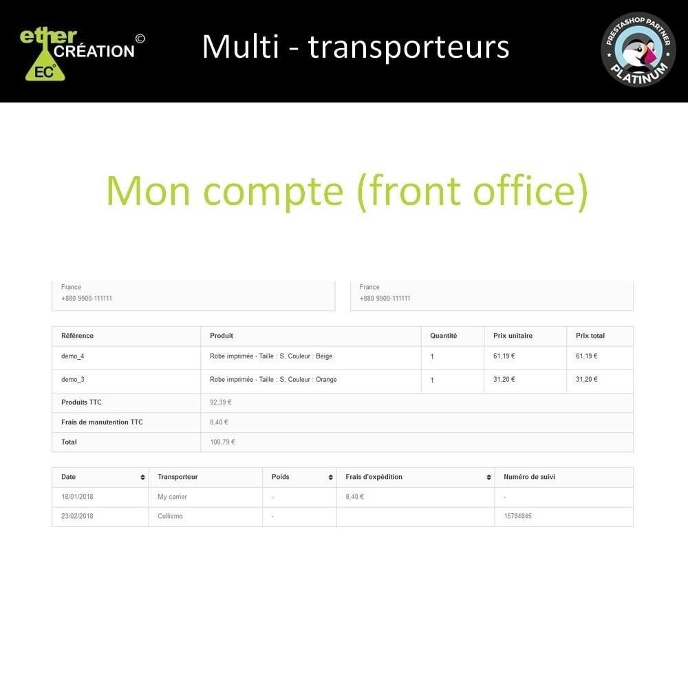 module - Transporteurs - Multi transporteur & Multi suivi - 4