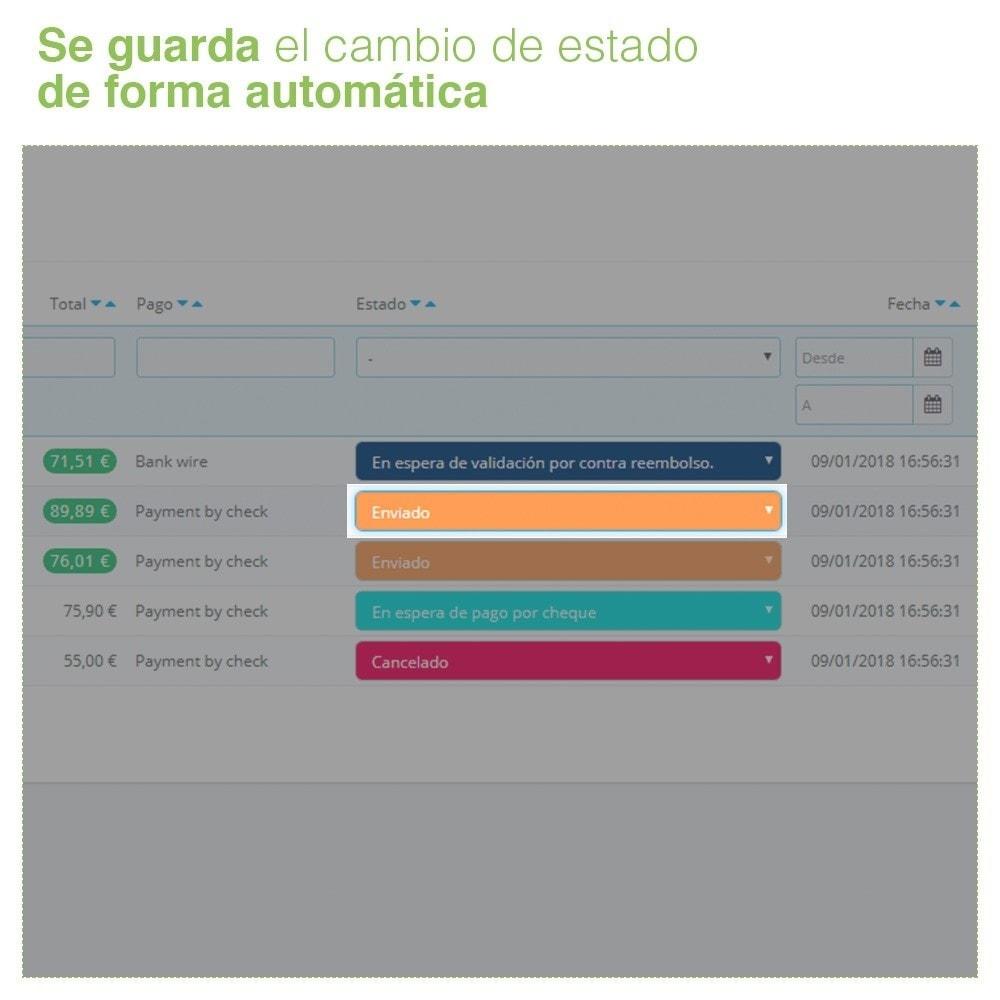 module - Gestión de Pedidos - Cambiar Estado de Pedidos desde el Listado de Pedidos - 5