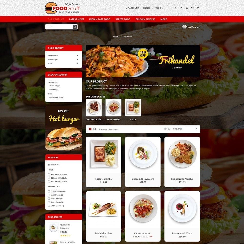 theme - Cibo & Ristorazione - Foodstuff Restaurant - 4