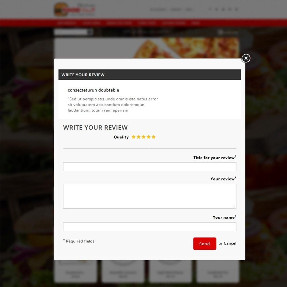 theme - Żywność & Restauracje - Foodstuff Restaurant - 14