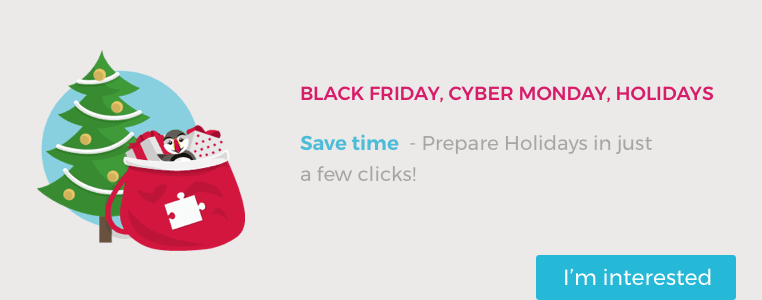 Black Friday, Cyber Monday, Holidays: Get Ready!